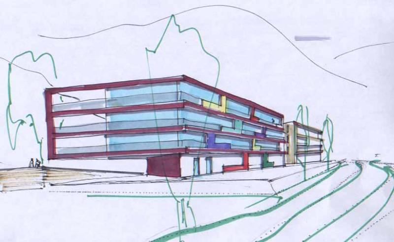 melle metzen architects bozen projekte architektur bau von 30 wohnungen in der gemeinde. Black Bedroom Furniture Sets. Home Design Ideas
